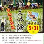 愛知の酒造好適米「夢吟香」の田植え体験(6/10)参加者募集中です!