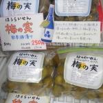 <賞味期限間近のため売り尽くし!>ほうらいせん梅の実(日本酒漬け&焼酎漬け)