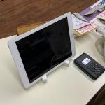 iPadがまん天やにやって来た!