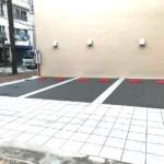 本日7月28日より新しくなったお客様用駐車場ご利用いただけます!