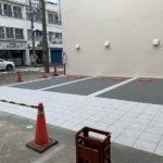 お客様用駐車場の工事が完了!来週よりご利用いただけます。