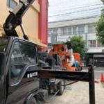 7月10日の駐車場の舗装工事 無事完了しました!