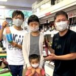 清酒「白老」蔵元の澤田酒造様ご来店いただきました!